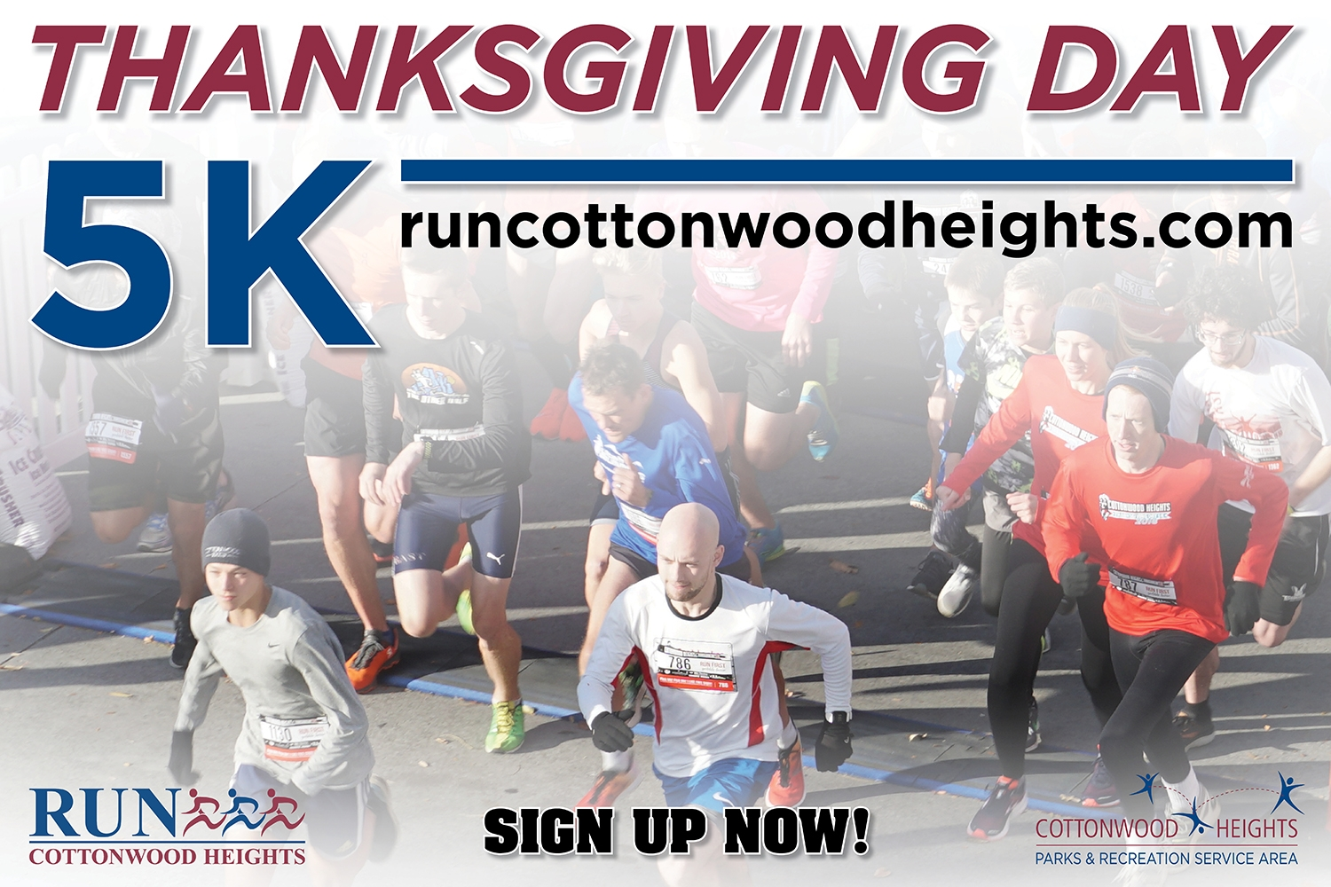 2018 Cottonwood Heights Thanksgiving Day 5K