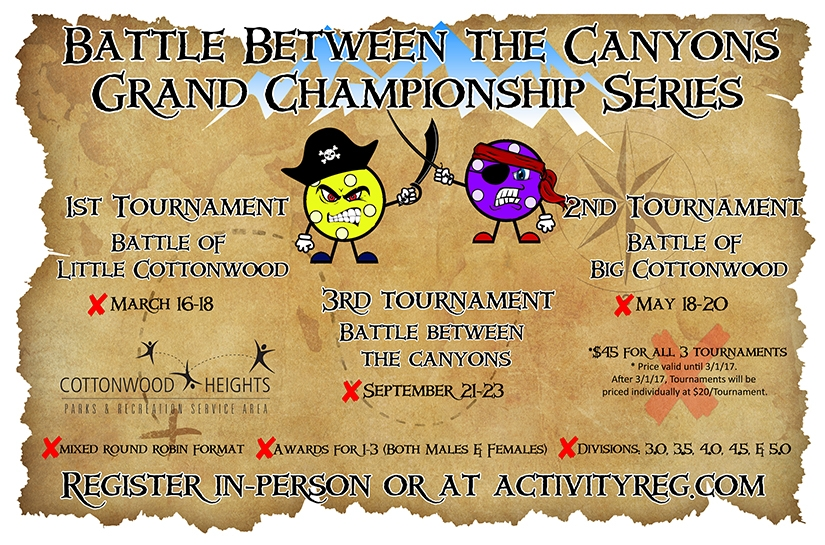 Battle Between the Canyons Grand Championship Pickleball Series
